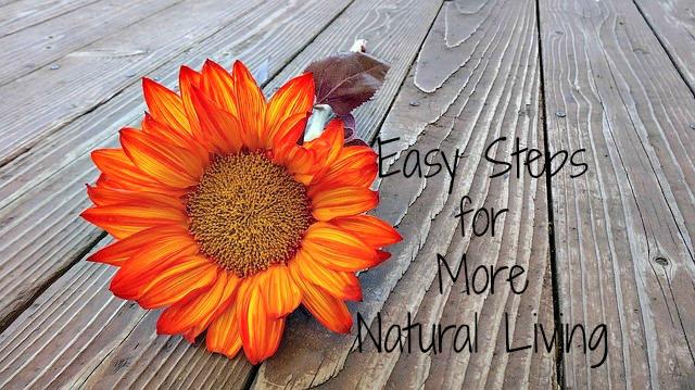 Simple steps toward more natural living